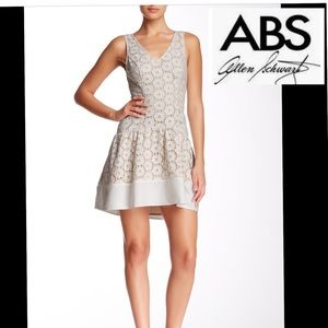 NWT sz 4 ABS by Allen Schwartz lace eyelet lined